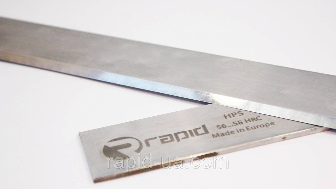Строгальный нож 800*23*3 (800х23х3) по дереву HPS
