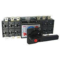 Переключатель нагрузки 1-0-2 с выносной (черной) рукояткой ETI LA2/D COH (4667022)