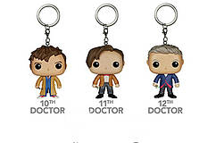 Фигурка-брелок Doctor (10-11-12)  Доктор Кто Doctor Who Funko Pop