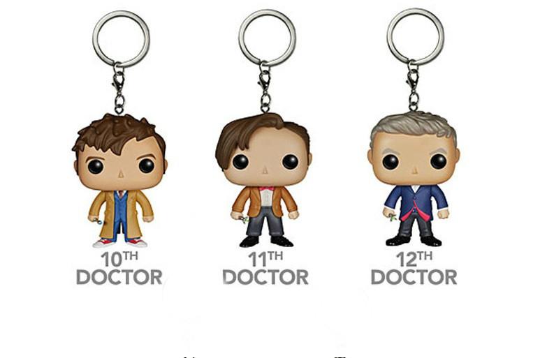 Фигурка-брелок Doctor (10-11-12)  Доктор Кто Doctor Who Funko Pop