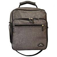 Мужская классическая вертикальная сумка через плечо Wallaby из жатки цвет хаки