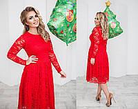 Платье  гипюровое в расцветках 30758, фото 1