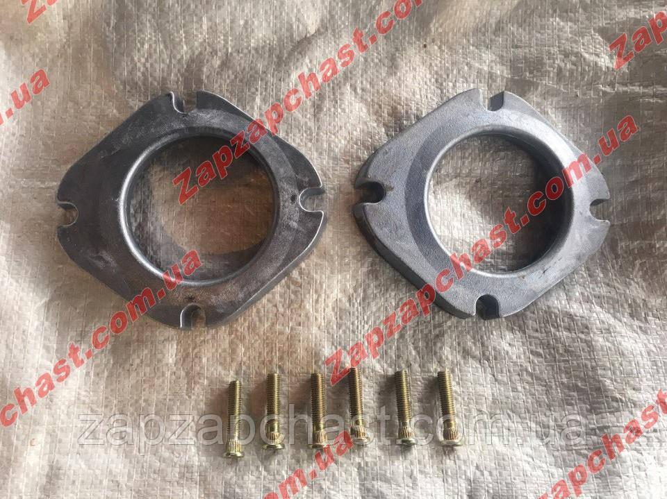 Комплект удлинителей передней подвески проставки Lanos Sens Ланос Сенс (2 проставки и 6 шпилек)