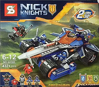Конструктор SY 566 Nexo Knight Нексо Найтс 2 в 1, 432 дет.