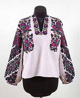 Заготовка Борщівської жіночої сорочки для вишивки нитками/бісером БС-125