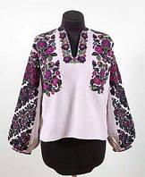 Заготовка Борщівської жіночої сорочки для вишивки нитками/бісером БС-125, фото 1
