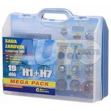 Лампочки сервісний набір MEGA H7/H1 для Skoda