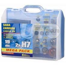 Лампочки сервісний набір MEGA H7/H7 12v для Skoda