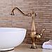 Смеситель для раковины Aquaroom бронза кран для умывальника в ванную в душ, фото 2