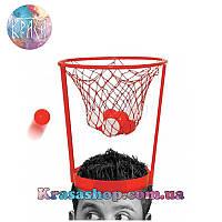 Игра баскетбол на голове