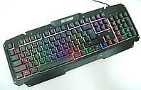 Игровая USB клавиатура с подсветкой, Atlanfa Gaming Blacklighting Keybord M500-S