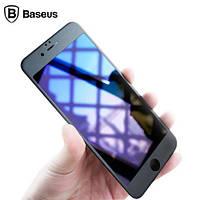 Защитное стекло Baseus Iphone 7/8 PET Soft 3D Anti-Bluelight (Black)