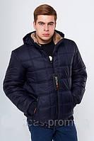 Мужская куртка теплая с мехом Bigline м 72
