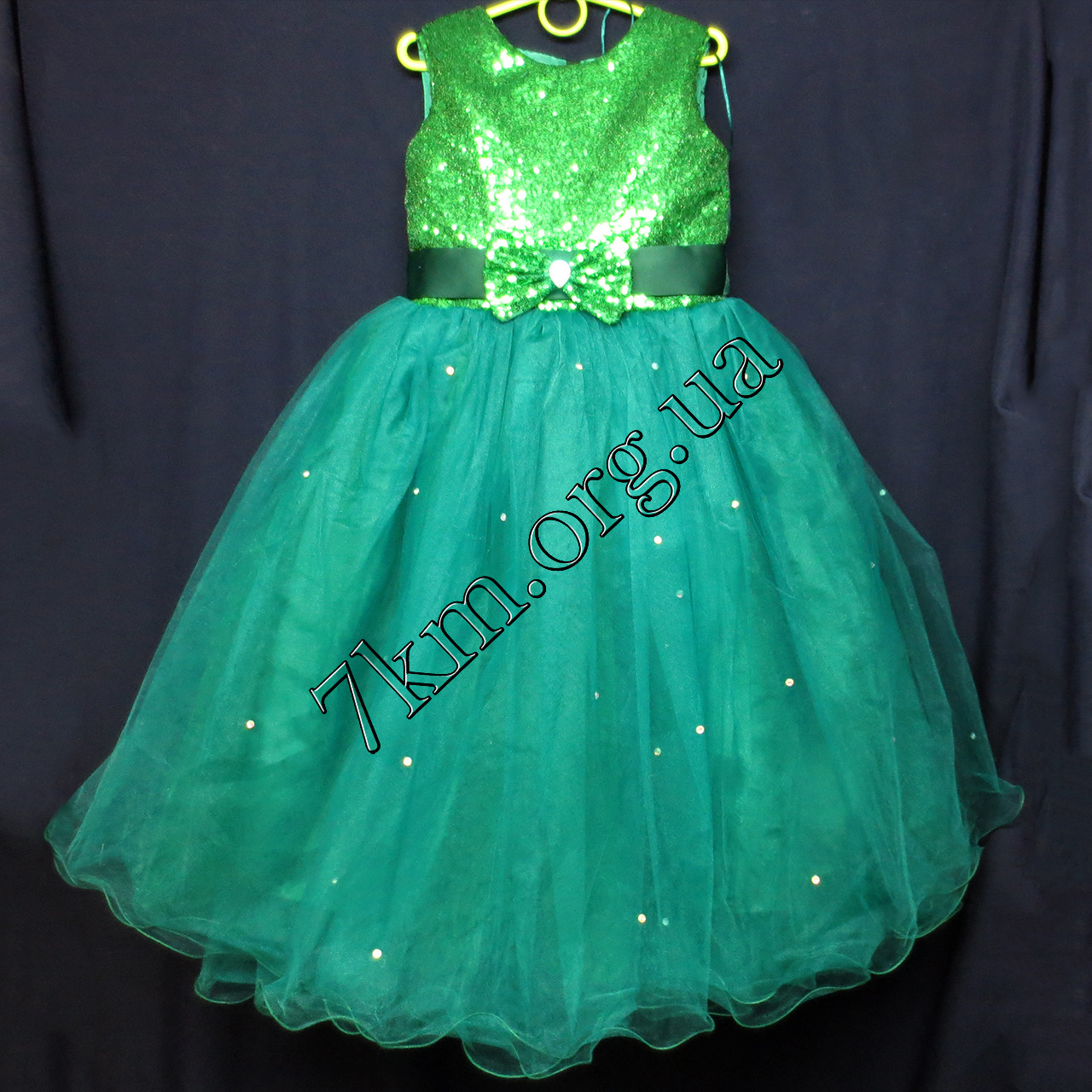 dd71aff748a Платье детское нарядное для девочек 6-7 лет