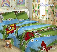Полуторный комплект детского постельного белья поплин Далматин TM TAG