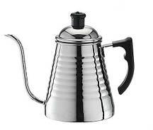 Чайник Tiamo Tower K металлический для заваривания кофе (0.7 л)