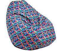 Кресло-груша принт S 90x60x90 см.