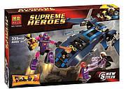 Конструктор Bela 10250 Супергерои Люди Икс, 335 деталей