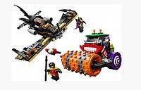 Конструктор Bela 10228 аналог LEGO Super Heroes 76013 Паровой каток Джокера 485 дет