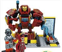 Конструктор SY360A Heroes Assemble Альтрон против робота Железного человека 261 дет