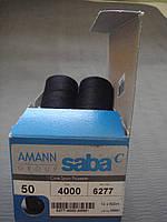 Нитки Аманн Saba ( Германия) № 50 цвет 4000( черный)