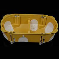 Коробка установочная KOPOS для двух приборов для гипсокартона (KPL 64-50/2LD)
