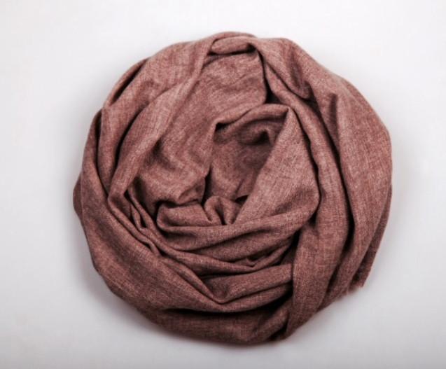 Шарф вуальный кашемировый Chadrin коричневый мужской, фото 1