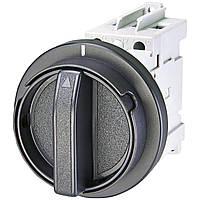 Выключатель нагрузки для монтажа на дверцу шкафа ETI LAS 63 D (черная рукоятка) (4661204)
