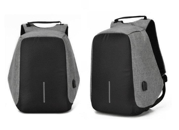 Портфель мужской против кражи Antithief Lite. Стильный мужской портфель. Мужские рюкзаки. Качественный рюкзак., фото 1