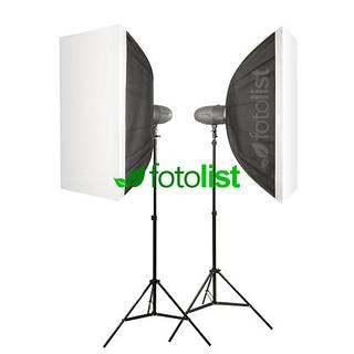 Набор студийного света Visico VL-400 Plus KIT-2-60x90, 2х400 Дж