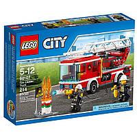 Конструктор LEGO City Пожарная машина с лестницей Fire Ladder Truck Cool Toy For Kids60107