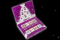 Корпоративный шоколадный подарок Книга 12 шоколадок
