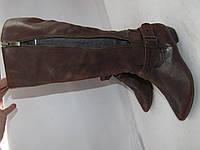 JANET D. _Качественные кожаные высокие сапоги _39р_ст.25см Н65