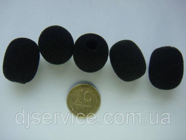 Попфильтр 20mm (ветрозащита) для петлички, гарнитуры, петличного микрофона Sennheiser ew122g2, ew100g2, ME2