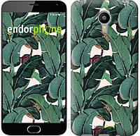 """Чехол на Meizu M2 Note Банановые листья """"3078u-94"""""""