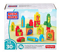 Конструктор для малышей Mega Bloks овощи и фрукты 30 деталей первое строительство First Builders DPY42