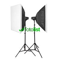 Набор студийного света Godox MiniMaster 150 KIT-50х70-2, 2х150 Дж
