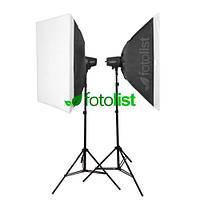 Набор студийного света Godox FST PHOTO EG-180KA IP33 KIT-50х70-2, 2х180 Дж