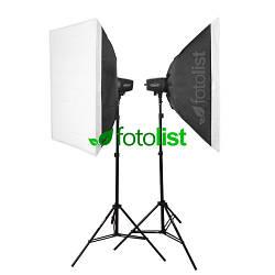 Набор студийного света Godox MiniMaster 150 KIT-60х60-2, 2х150 Дж