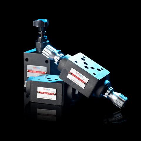 Клапани, дроселі, регулятори тиску, гідрозамки