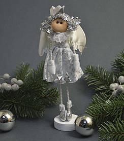Новогоднее украшение  Ангелочек белый