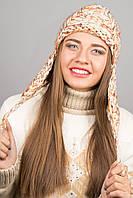 Шапка Буденовка (бежевый), размер