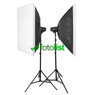 Набор студийного света Godox MiniMaster 150 KIT-60х90-2, 2х150 Дж