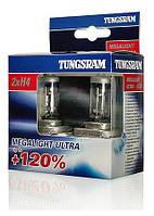 Авто лампы 12V  TUNGSRAM H4 Megaligt Ultra +120%, фото 1