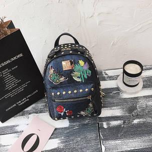 Рюкзак женский с бабочкой, фото 2