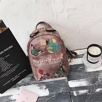 Рюкзак женский с бабочкой, фото 3