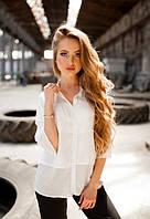 Жіноча легка біла блузка від KIVI