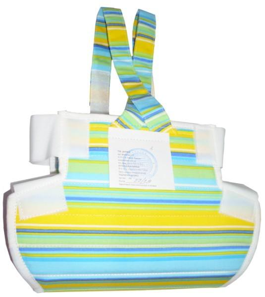Подушка Фрейка (шина Фрейка, перинка Фрейка) бандаж фиксирующий при дисплазии детский - фото 6