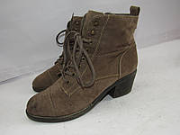 GRACELAND _стильные ботинки под замшу _ 39р_ст.25см Н65
