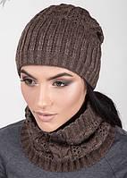 Женский комплект - шапка хомут  1433